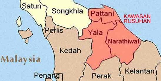 keselamatan selatan siam: kahwin Yala dalam kawasan rusuhan di selatan thai